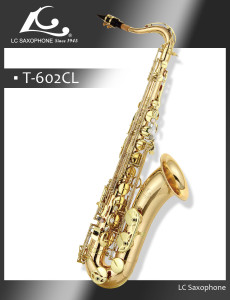 CL-T-602CL LC SAX Professional copper tenor saxophone