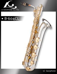 B-604CL LC SAX Professional cupronikel baritone saxophone